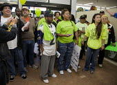 California: Workers at the Walmart store in Richmond are joined by other Walmart workers sacked for their union membership and other union members and community supporters in OUR Walmart - for respect... - David Bacon - 2010s,2012,activist,activists,against,America,at,BAME,BAMEs,BME,BME black,bmes,bullying at work,campaign,campaign campaigning,campaigner,campaigners,CAMPAIGNING,CAMPAIGNS,communities,community,de reco