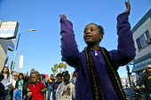California, USA - March celebrating the birthday of Rev. Martin Luther King Jr. - David Bacon - 19-01-2015