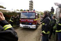 London fire strike, Picket Tottenham Fire Station - Duncan Phillips - 01-11-2010