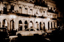Night time scene Havana Cuba - Duncan Phillips - 12-07-1998