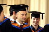 Graduation ceremony - Duncan Phillips - 2000s,2004,awarded,ceremonies,ceremony,degree,degrees,edu education,education,graduate,graduates,Graduation Day,Higher Education,student,students,success,University,wellbeing