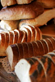 Freshly Baked Bread at a bakery - Duncan Phillips - 2000s,2004,aroma,baked,baker,bakers,bakery,bakes,bread,brown,cooked,COOKERY,cooking,diet,diets,EBF economy,flour,food,FOODS,fresh,freshly,gastronomy,good,LFL Leisure,loaf,loaves,nutrition,of,outlet,ou