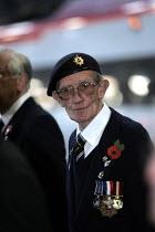 member of the National Service veterans association. Remembrance service London. - Duncan Phillips - 10-11-2004