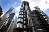 The Lloyd's building in the city of London financial district. - Duncan Phillips - 22-10-2008