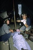 UK Volunteers working on VSO projects in Zimbabwe. - Duncan Phillips - 09-01-1995