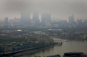 Gloomy weather over the City of London financial district - Duncan Phillips - 25-05-2008