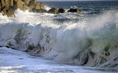 Waves, crashing on a beach in Cornwall - Duncan Phillips - 15-07-2005