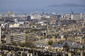 View of Edinburgh from Arthur's Seat and the Firth of Forth river estuary - Duncan Phillips - 10-04-2011