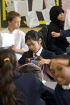 Comprehensive school classroom, London - Duncan Phillips - 2000s,2006,adolescence,adolescent,adolescents,asian,bme minority ethnic,child,CHILDHOOD,children,chinese,cities,city,class,classroom,CLASSROOMS,comprehensive,COMPREHENSIVES,edu education,education,fem
