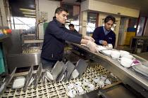 Rail Gourmet workers crockery washing, Euston Station.. - Duncan Phillips - 10-12-2008