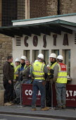 Construction workers taking a coffee break, City of London - Duncan Phillips - 06-12-2006