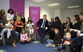 David Cameron visits Women Like Us a recruitment service that specialises in part-time jobs for women to fit work around the needs of their family, to discuss what mothers need in order to return to w... - Duncan Phillips - 14-04-2010