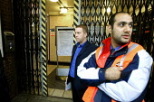 Northern line suspended as drivers refuse to work over safety fears about the breaking system on the trains. Unions called for the withdrawal of trains after the fifth incident of brake failure when p... - Duncan Phillips - 14-10-2005