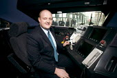 Train Driver, New Javelin Train launch, St Pancras Station, London - Duncan Phillips - 12-12-2008