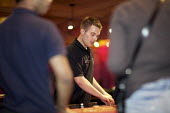 Croupier at Central London Casino - Duncan Phillips - 20-07-2012