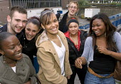 Group of happy young adults - Duncan Phillips - 15-11-2005