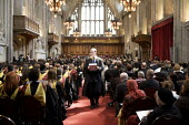 University Graduation at Guildhall, in London. - Duncan Phillips - &,@ACE#, mortarboard,2010,2010s,academic,ACADEMICS,ace,achievement,achievements,alumni,architecture,belief,buildings,ceremonial,ceremonies,ceremony,church,churches,cities,city,conviction,culture,degre