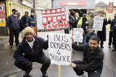 Metroline Bus Strike. Picket line Holloway Garage - Duncan Phillips - 20-11-2006