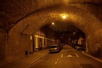 Night time Street scene, Hackney, London - Duncan Phillips - 12-10-2007