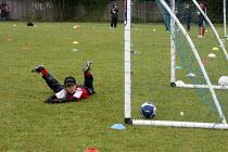 Pupils playing a football match - Duncan Phillips - 06-07-2008
