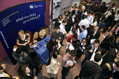 Students at a University Careers Fair. - Duncan Phillips - 22-09-2009