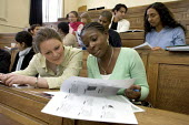 Students in a university lecture. - Duncan Phillips - 16-03-2005
