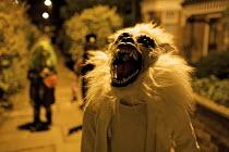 Children Trick or Treating , Halloween, London - Duncan Phillips - 2000s,2009,ACE,boy,boys,child,CHILDHOOD,children,cities,city,costume,costumes,culture,halloween,juvenile,juveniles,kid,kids,Leisure,LFL,LIFE,london,male,mask,masked,masks,night,people,RECREATION,RECRE