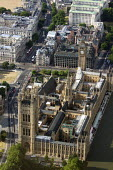 Aerial View of London - Houses of Parliament, Palace of Westminster. - Duncan Phillips - 2010s,2013,aerial,building,buildings,cities,city,cityscape,cityscapes,EBF,Economic,Economy,House,Houses,london,lords,outdoors,outside,parliament,political,POLITICIAN,POLITICIANS,politics,skyline,skyli