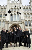 University graduation ceremony, The Gulidhall, London. - Duncan Phillips - 25-05-2005