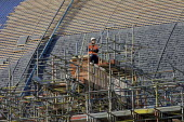 Construction work at St Pancras Station, Kings X London - Duncan Phillips - 29-11-2005