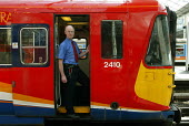 Train Driver Waterloo Station - Duncan Phillips - 25-06-2003