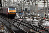 Train on the Weat Coast Main Line in icy weather - Duncan Phillips - 30-01-2004