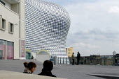 The new Selfridges department store, The Bull Ring Birmingham City centre. Designed by architects Future Systems it is covered in a windowless blue skin, dotted with 15,000 aluminium discs. The organi... - Duncan Phillips - 16-03-2004