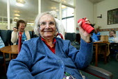 Pensioners exercise class. Council Day Centre. London - Duncan Phillips - 19-05-2004