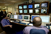 CCTV and control room Birmingham New Street Station. - Duncan Phillips - 16-09-2004