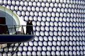 The new Selfridges department store, The Bull Ring Birmingham City centre. Designed by architects Future Systems it is covered in a windowless blue skin, dotted with 15,000 aluminium discs. The organi... - Duncan Phillips - 23-12-2004