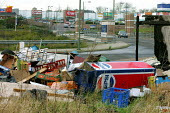 Fly Tipping - dumping of domestic and trade waste illegally, Barnet London - Duncan Phillips - 05-01-2005