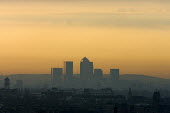 Morning light over Docklands, London - Duncan Phillips - 11-04-2005