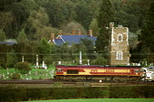 Goods train pulling freight through the countryside. - Duncan Phillips - 16-05-2005