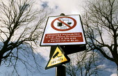Street sign designating a ban on street drinking, Lancaster - Duncan Phillips - 06-01-2006
