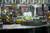 Emergency services at kings Cross station in response to a terrorist attack on the underground - Duncan Phillips - 07-07-2005
