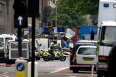 London double decker bus destroyed by suspected suicide bomber. Upper Woburn Sq and Taverstock Square. London - Duncan Phillips - 2000s,2005,7/7,adult,adults,attack,attacking,attacks,blast,bomb,bombing,bombings,bombs,bus,bus service,buses,CLJ,death,deaths,died,explosion,EXPLOSIONS,fatal,fatality,fatally,incident,incidents,killed