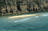 Isolated beach with swimmers, Cornwall, UK - Duncan Phillips - 15-07-2005