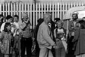 Anger and bitterness at a scab ^Scabby Mally^ who walked through the picket line every day during the two and a half year long dock dispute during which 400 dockers were sacked for refusing to cross a... - David Sinclair - 12-09-1996