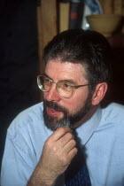Sinn Fein President Gerry Adams MP 1999 - Oistin - 1990s,1999,Northern Ireland,POL,political,POLITICIAN,POLITICIANS,politics,politics Irish,President,The Troubles