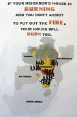 A poster in the Southern African Women's Institute for Migration in South Africa (SAWIMA), Johannesburg, South Africa. - Felipe Trueba - 2000s,2008,Africa,african,africans,Diaspora,displaced,FEMALE,foreign,foreigner,foreigners,IMMIGRANT,IMMIGRANTS,immigration,international,Johannesburg,migrant,migrants,migration,nationalism,people,pers