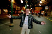 A man who has a history of drug abuse is distressed in Glasgow City Centre late at night. - Gerry McCann - 22-07-2002