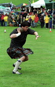 Rock hurling compettition at the Atholl Games in Blair Atholl, Perthshire - Gerry McCann - 11-09-2000