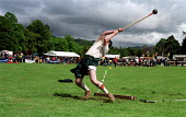 Hammer throwing competition at the Atholl Games in Blair Atholl, Perthshire - Gerry McCann - 11-09-2000