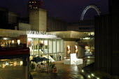 The new foyer at the Hayward Gallery on Londons South Bank. The interactive space, designed by artist Dan Graham is entitled Waterloo Sunset after the Kinks song. - Geoff Crawford - 10-10-2003